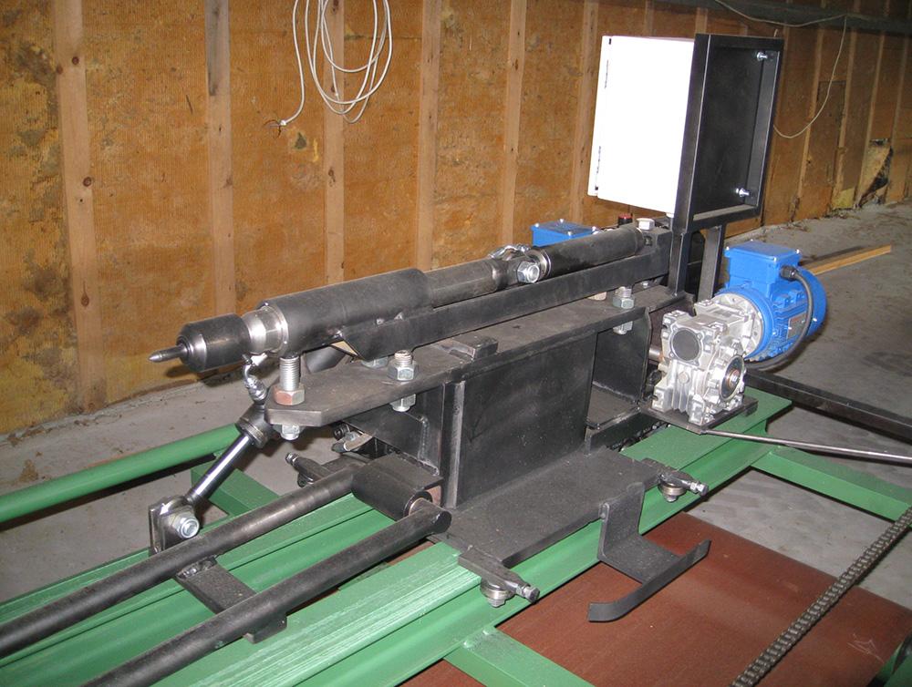 Hydraulically operated head unit model Grand option 1